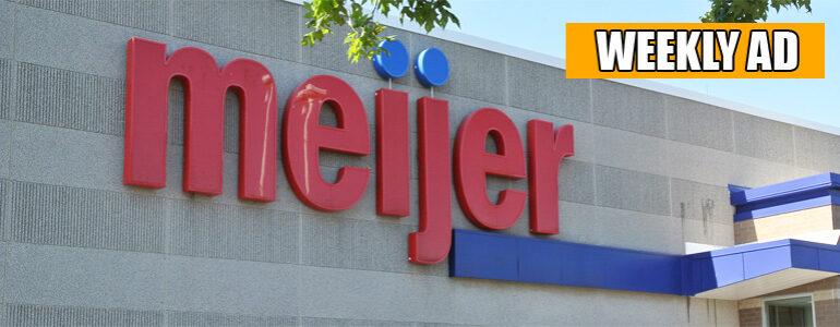 This Week's Meijer Circular